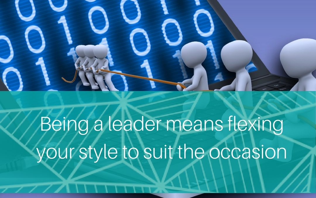5 ways to flex your leadership style to suit your team