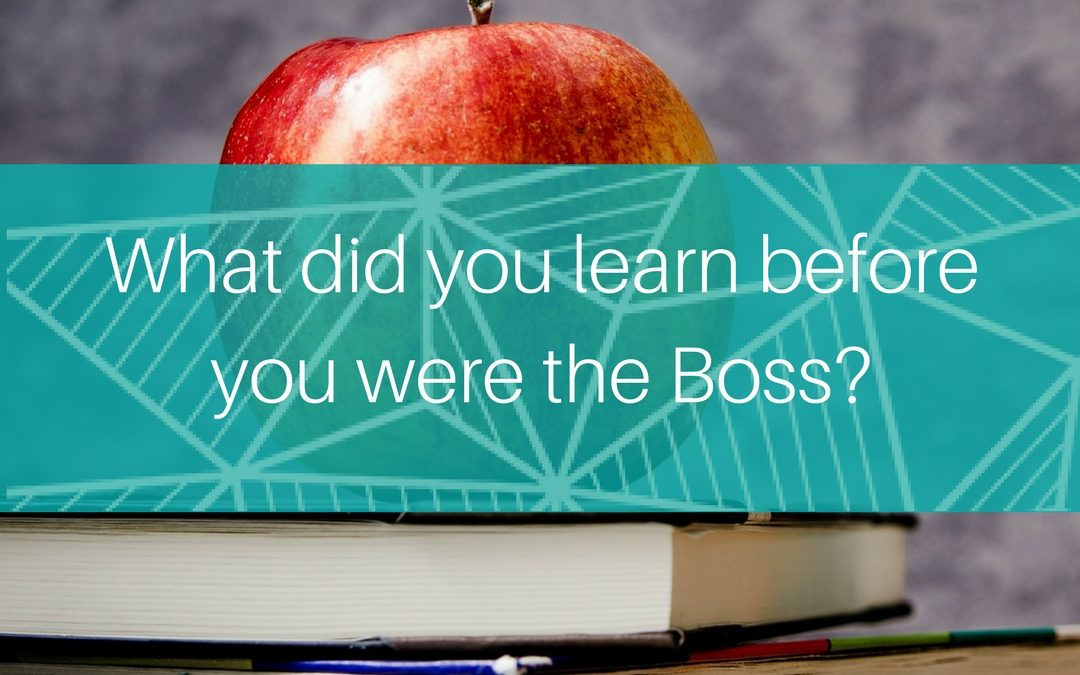7 things to remember from before you were the boss