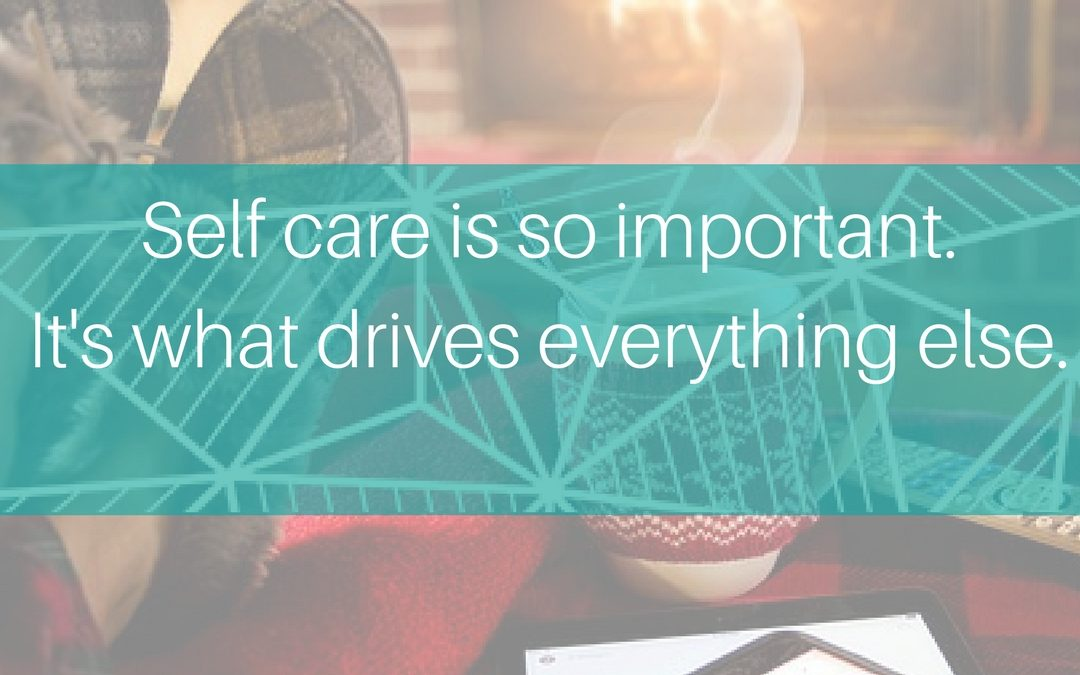 What does self care mean to you?