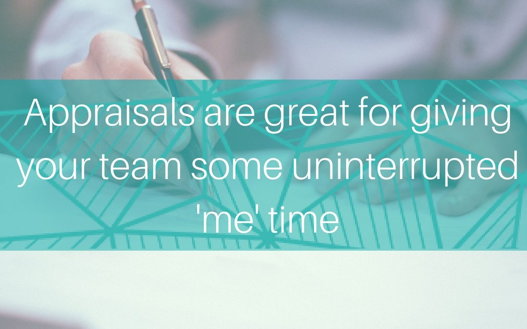 7 reasons why Appraisals matter to your team