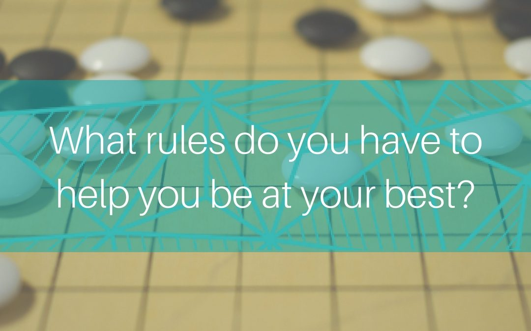 What are your rules as a leader?