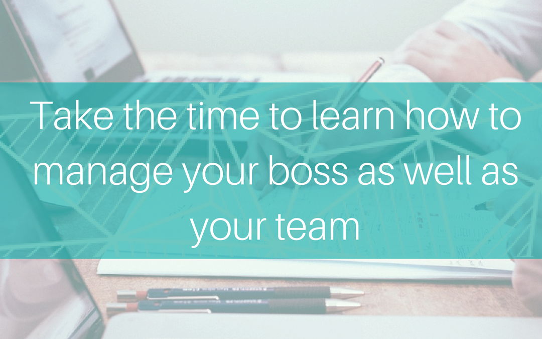 5 ways to manage your own Boss