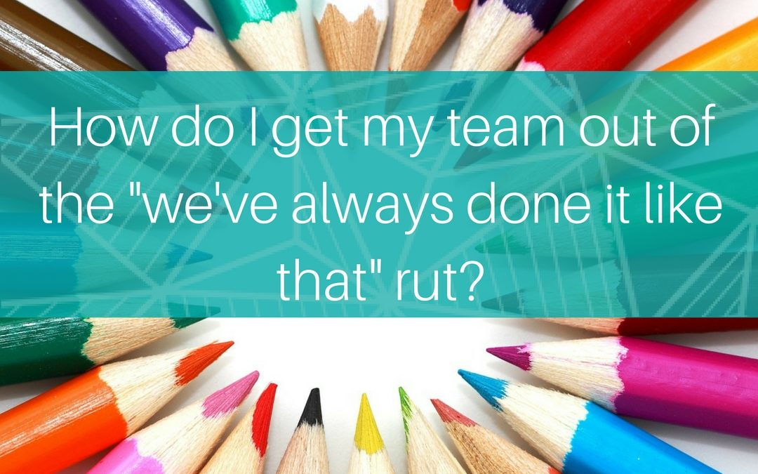 3 ways to get the creative juices flowing in your team