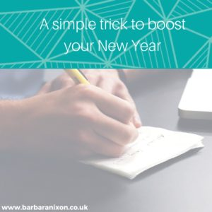 A simple trick to boost your New Year