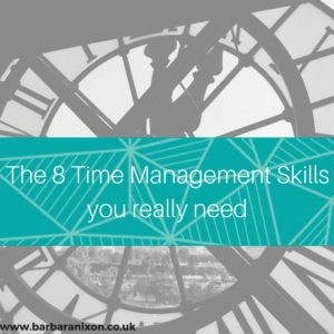 The 8 Time Management Skills You Really Need