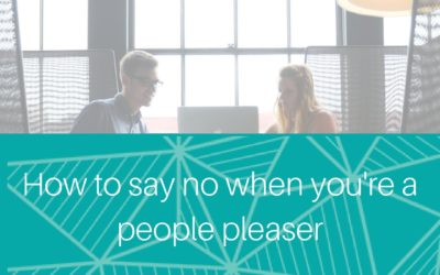 How to say no when you're a people pleaser