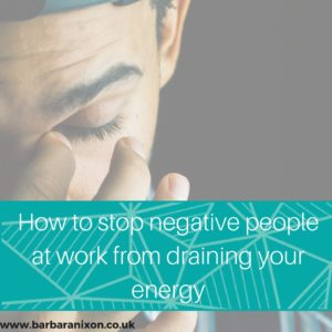 How to stop negative people from draining your energy