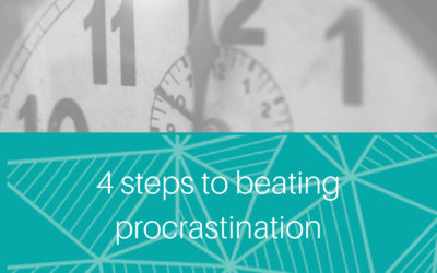 4 steps to beating procrastination