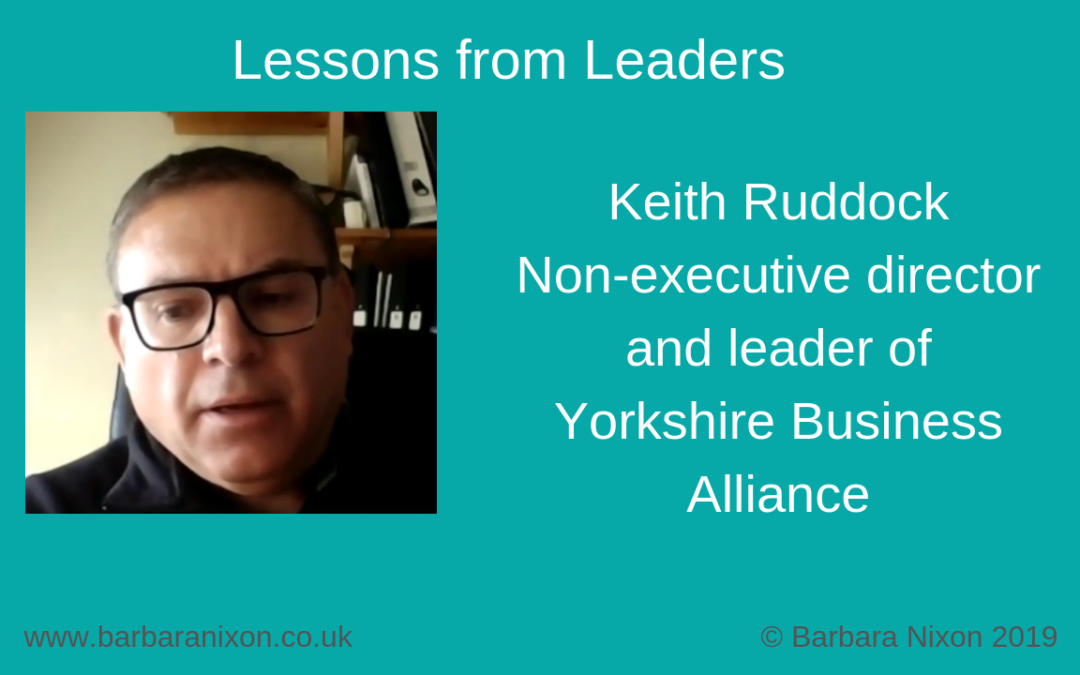 Lessons from Leaders – Keith Ruddock