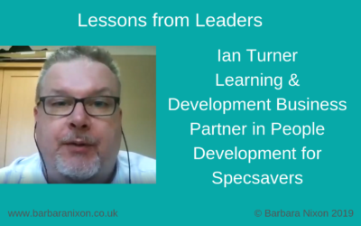Lessons from Leaders – Ian Turner