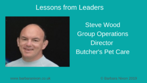 Lessons from Leaders - Steve Wood