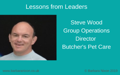 Lessons from Leaders – Steve Wood