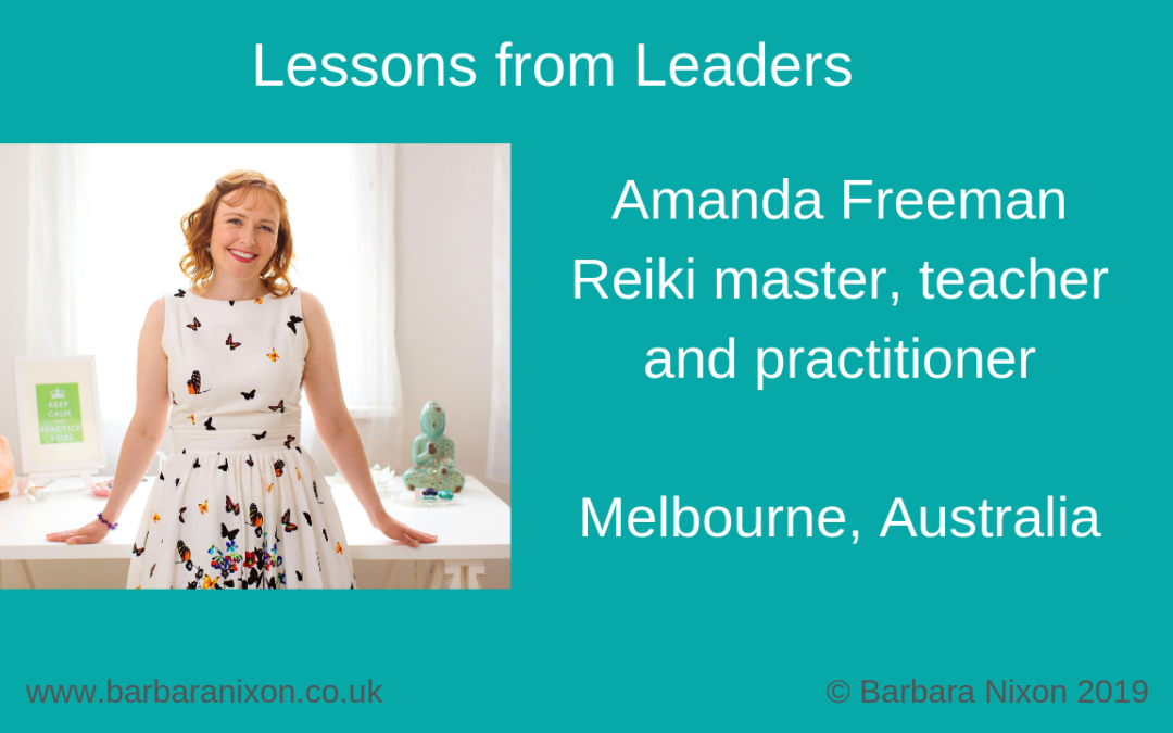Lessons from Leaders – Amanda Freeman