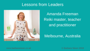 Amanda Freeman - Lessons from Leaders