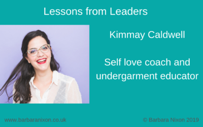 Lessons from Leaders – Kimmay Caldwell
