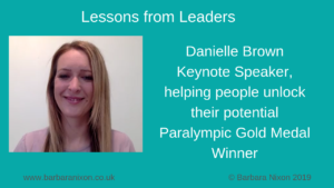 Lessons from Leaders - Danielle Brown