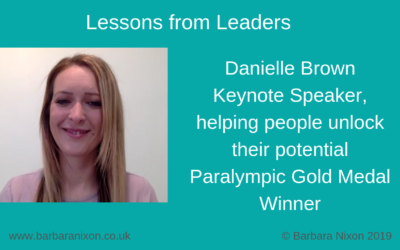 Lessons from Leaders – Danielle Brown