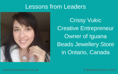 Lessons from Leaders – Crissy Vukic