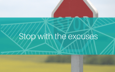 Stop with the excuses